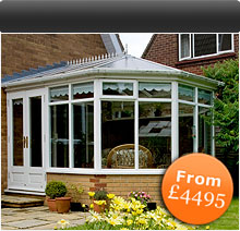 Conservatories from £4495
