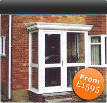 Porches from £1595